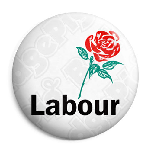 Old Labour Party Logo - Political Election Button Badge