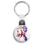 Lambretta Mod Painting - Scooter Key Ring