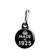 Made in 1925 - Keep Calm Birthday Year of Birth Zipper Puller