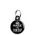 Made in 1937 - Keep Calm Birthday Year of Birth Mini Keyring