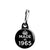 Made in 1965 - Keep Calm Birthday Year of Birth Zipper Puller