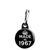 Made in 1967 - Keep Calm Birthday Year of Birth Zipper Puller