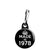 Made in 1978 - Keep Calm Birthday Year of Birth Zipper Puller