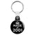 Made in 2001 - Keep Calm Birthday Year of Birth Key Ring