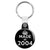Made in 2004 - Keep Calm Birthday Year of Birth Key Ring