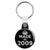Made in 2009 - Keep Calm Birthday Year of Birth Key Ring