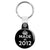 Made in 2012 - Keep Calm Birthday Year of Birth Key Ring
