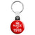 Made in 1918 - Keep Calm Birthday Year of Birth Key Ring