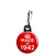 Made in 1942 - Keep Calm Birthday Year of Birth Zipper Puller