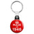 Made in 1946 - Keep Calm Birthday Year of Birth Key Ring