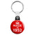Made in 1952 - Keep Calm Birthday Year of Birth Key Ring