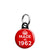 Made in 1962 - Keep Calm Birthday Year of Birth Mini Keyring