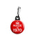Made in 1970 - Keep Calm Birthday Year of Birth Zipper Puller