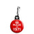 Made in 1971 - Keep Calm Birthday Year of Birth Zipper Puller