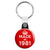 Made in 1981 - Keep Calm Birthday Year of Birth Key Ring