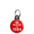 Made in 1984 - Keep Calm Birthday Year of Birth Mini Keyring