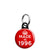 Made in 1996 - Keep Calm Birthday Year of Birth Mini Keyring