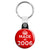 Made in 2006 - Keep Calm Birthday Year of Birth Key Ring