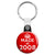Made in 2008 - Keep Calm Birthday Year of Birth Key Ring