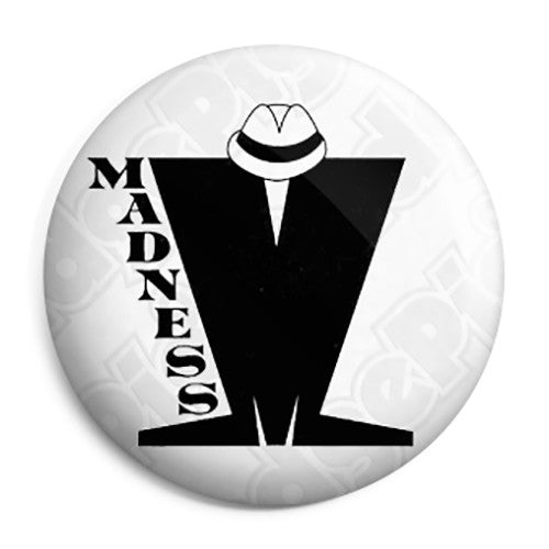 Madness - M Nutty Boy Band Logo Button Badge