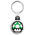 Super Mario - 8-Bit 1UP Green Mushroom Key Ring