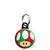 Super Mario Kart - Green and Red Mushroom Mini Keyring