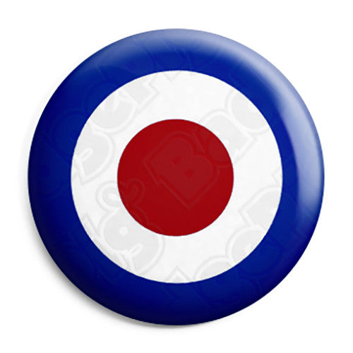 RAF Mod Roundel Target - Button Badge
