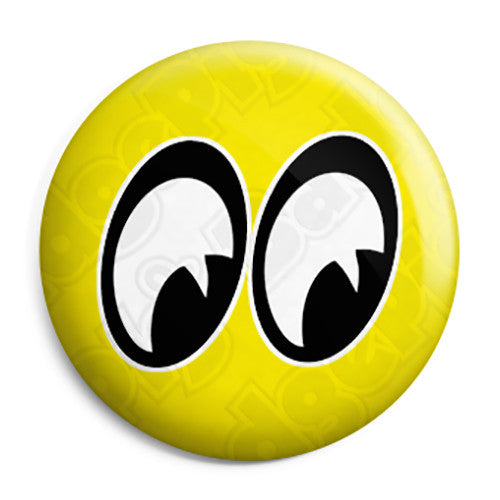 Moon Eyes - Custom Car Button Badge