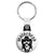 Motorhead - Lemmy Face Vector Drawing Key Ring