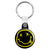 Nirvana Smiley - Kurt Cobain Grunge Key Ring