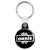 Oasis Splash Logo - Liam and Noel Gallagher Britpop Key Ring