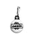 Oasis Splash Logo - Liam and Noel Gallagher Britpop Zipper Puller