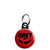 Obey Mickey Mouse Smiley Disney Logo - Mini Keyring