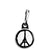 Pray for Paris Peace Sign - Eiffel Tower Logo Zipper Puller