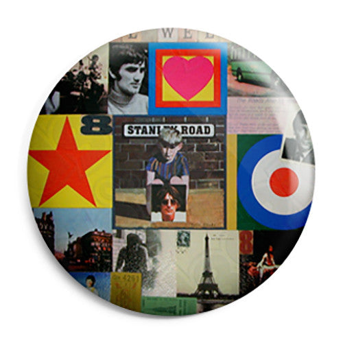 Paul Weller - Stanley Road Mod Album Pin Button Badge
