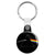 Pink Floyd - Dark Side of the Moon Psychedelic Key Ring