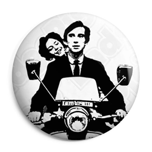 Quadrophenia Lambretta Scooter - Scooterist Button Badge