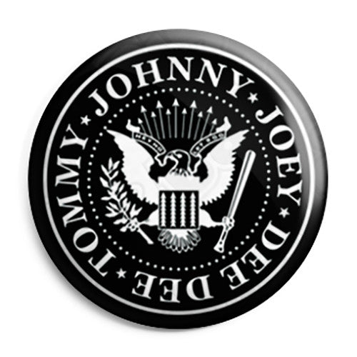 The Ramones - Crest - Button Badge