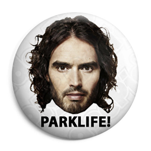 Russell Brand rustyrockets - Parklife! Button Badge
