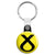 SNP Cross Logo - Scottish Political Election Key Ring