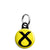 SNP Cross Logo - Scottish Political Election Mini Keyring