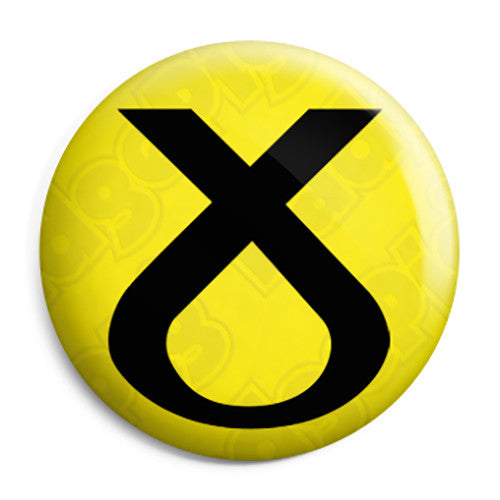 SNP Cross Logo - Scottish Political Election Pin Button Badge