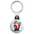 Santa Claus Cartoon Wave - Christmas Xmas Key Ring
