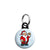Santa Claus Cartoon Wave - Christmas Xmas Mini Keyring