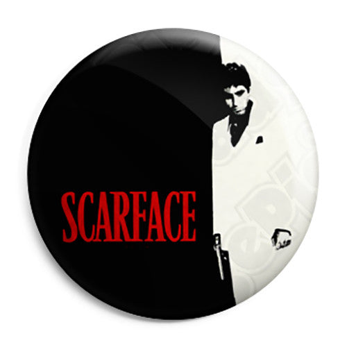 Scarface - Movie - Film Button Badge
