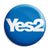 Yes 2 - Second Scottish Referendum - Pin Button Badge