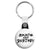 Skate and Destroy - Skateboard & Skateboarding Key Ring