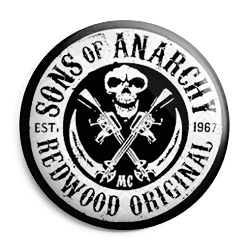 Sons of Anarchy - Redwood Original 1967 Button Badge