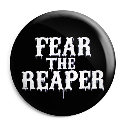 Sons of Anarchy - SAMCRO Fear the Reaper Button Badge