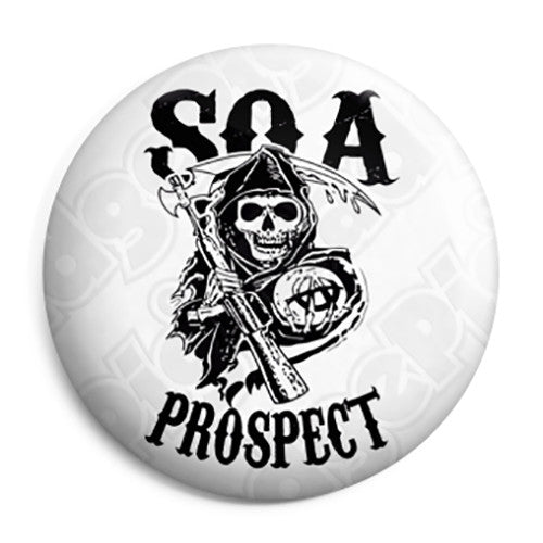 Sons of Anarchy - SOA Prospect Pin Button Badge